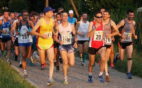 Partenza gara Castelfranco d'Oglio